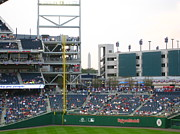 Washington Nationals Prints - Nationals Park - 01137 Print by DC Photographer