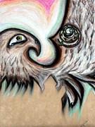 Angela Pari  Dominic Chumroo - Native American Eye of the Eagle 1