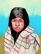 Angela Pari  Dominic Chumroo - Native American Girl 1
