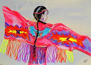 Angela Pari  Dominic Chumroo - Native American Girl Dancer 1
