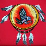 Angela Pari  Dominic Chumroo - Native American Owl Symbol 1