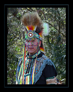 Headdress Originals - Native American Portrait by Sue Karski