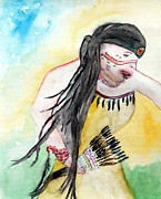 Angela Pari  Dominic Chumroo - Native American Regalia...