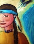 Angela Pari  Dominic Chumroo - Native American Woman 1