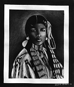 Sheena Prints - Native American Woman Print by Sheena Bolken
