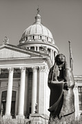 Capitol Building Photos - Native Capitol by Ricky Barnard