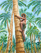 Val Miller - Native Climbing Palm Tree