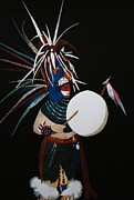 Joseph Frank Baraba Painting Prints - Native Dancer Print by Joseph Frank Baraba