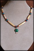 Cameo Jewelry - Native Tribal by Jan  Brieger-Scranton