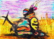 Angela Pari  Dominic Chumroo - Natives Pray