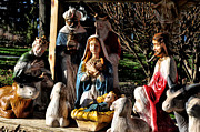 Nativity Scene Prints - Nativity Print by Bill Cannon