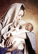 Christ Child Photo Posters - Nativity Poster by Cindy Singleton