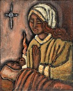 Maya Telford Art - Nativity by Maya Telford