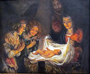 Donna Tucker - Nativity Scene Study
