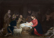 Nativity Print by Walter Mosley