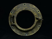 Porthole Posters - Natuical - Brass Porthole Poster by Paul Ward