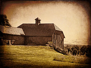 Barns Digital Art - Natural Farming by Pamela Phelps