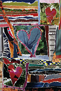 Gestures Mixed Media Framed Prints - Natural Love Framed Print by Kenneth James