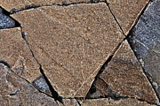 Cracked Stone Prints - Nature Patterns Series - 69 Print by Heiko Koehrer-Wagner