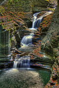 Gorge Photos - Natures Tears by Evelina Kremsdorf