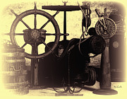 Cannon Prints - Nautical Still Life Print by Bob Orsillo