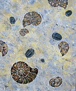 Fossil Originals - Nautiloids and Trilobites  by Vickie Fears