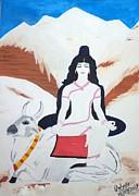 Nava Durga Mahagauri Print by Pratyasha Nithin
