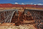 Scenic Drive Framed Prints - Navajo Bridges Framed Print by Benjamin Yeager