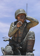 Marine Corps Photos - Navajo Code Talkers - Navajo People by Christine Till