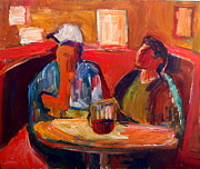Diebenkorn Paintings - Navajos at the All American Bar Gallup New Mexico by Chris  Easley