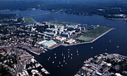 Annapolis Md Prints - Naval Academy Print by Skip Willits