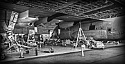 Mechanics Photo Framed Prints - Navy C130 Framed Print by Thomas Kessler