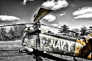 Helicopter Digital Art Prints - Navy HH 20 Helicopter Print by Bill Cannon