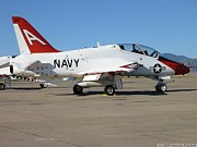 Bi-cycle Photos - NAVY t-45 Goshawk by Steven Parker