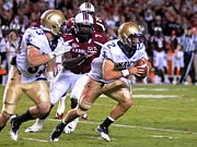 Cheers Photos - Navy versus South Carolina by Mountain Dreams