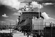 Warships Art - Navy Warships Key West Harbor Florida Usa by Joe Fox