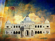 S Palace Paintings - Nawabs Palace by Catf