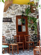 Greece Photos . Photos - Naxos Taverna by Vonelle Swanson
