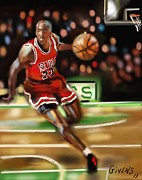 Mark Givens - NBA Legend Micheal Jordan