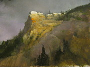 Thomas Moran Prints - Near Estes Park Colorado Print by Darryl Steele