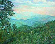 Blue Ridge Parkway Paintings - Near Purgatory by Kendall Kessler