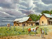 Near Taos Print by Paul Krapf