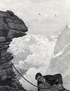 Extreme Sports Prints - Nearly There Print by Arthur Herbert Buckland