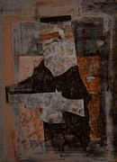 Kelly Mixed Media Metal Prints - Ned Kelly #9 Metal Print by Kim Gauge