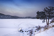 Nederland Prints - Nederland Colorado Barker Reservoir Winter Scenic View Print by James Bo Insogna