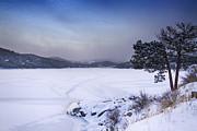 James BO  Insogna - Nederland Colorado Barker Reservoir Winter Scenic View