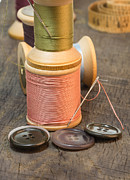Bobbin Photos - Needles and Thread by John Trax