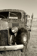 Rusted Cars Framed Prints - Needs Gas By Diana Sainz Framed Print by Diana Sainz