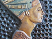 Handcarved Art - Nefertiti by Tina M Wenger