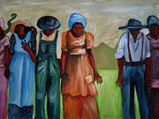 Slavery Painting Prints - Negro Missing Print by Janie McGee